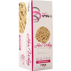 NLA For Her Her Whey - Lean Protein Cookie Snickerdoodle BEST BY 10/19 12 pack