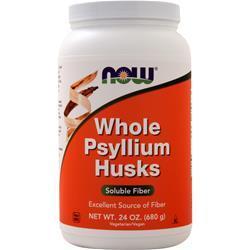 Now Whole Psyllium Husks 24 oz