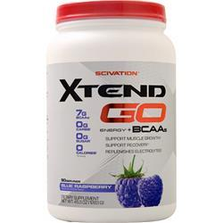 Scivation Xtend Go Energy + BCAAs Blue Raspberry 1283 grams