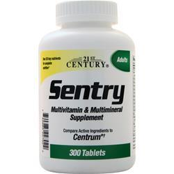 21st Century Sentry Multivitamin & Multimineral Supplement - Adults 300 tabs