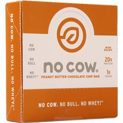 D's Naturals The No Cow Bar Peanut Butter Choc. Chip 12 bars