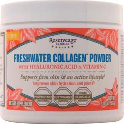 Reserveage Organics Freshwater Collagen Powder Lemon 86 grams