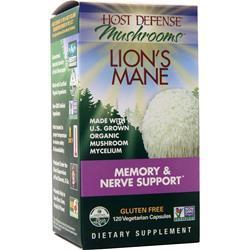 Host Defense Mushrooms - Lion's Mane 120 vcaps