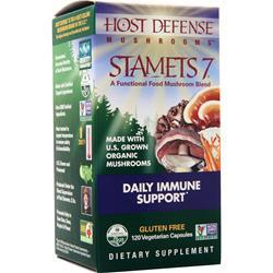 Host Defense Stamets 7 Mushrooms - Daily Immune Support 120 vcaps