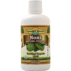 Dynamic Health Noni 100% Juice (Certified Organic) 32 fl.oz