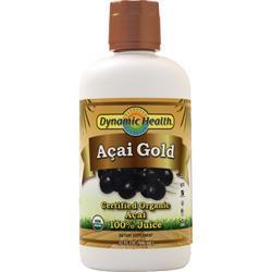 Dynamic Health Acai Gold Liquid (Certified Organic) 32 fl.oz