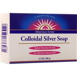 Heritage Products Colloidal Silver Bar Soap 3.5 oz