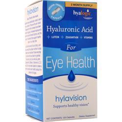 Hyalogic For Eye Health - HA + Lutein +Zeaxanthin +Vitamins 120 caps