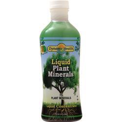 Dynamic Health Plant Minerals Liquid Natural Lemon Lime 32 fl.oz