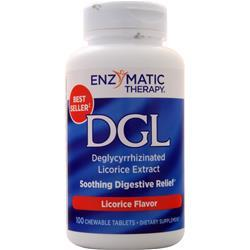 Enzymatic Therapy DGL Licorice 100 tabs
