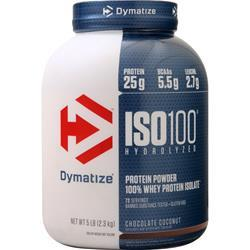 Dymatize Nutrition ISO-100 Chocolate Coconut 5 lbs
