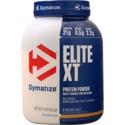 Dymatize Nutrition Elite XT Protein Powder Banana Nut 4 lbs