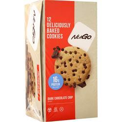 Nugo Nutrition Deliciously Baked Cookie Dark Chocolate Chip 12 pack