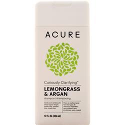 Acure Shampoo Lemongrass & Argan 12 fl.oz