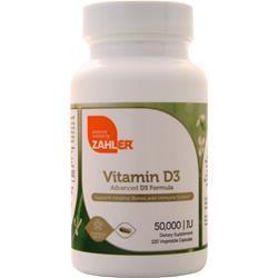 Zahler Vitamin D3 (50,000IU) 120 vcaps