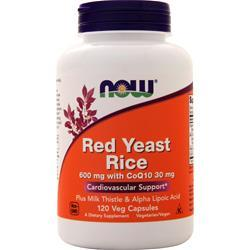 Now Red Yeast Rice with CoQ10 120 vcaps