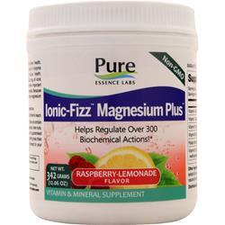 Pure Essence Ionic-Fizz Magnesium Plus Raspberry-Lemonade 342 grams