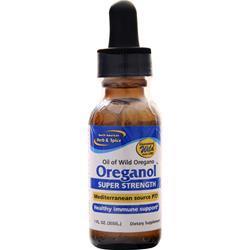 North American Herb & Spice Oil of Oregano Oreganol - Super Strength 1 fl.oz