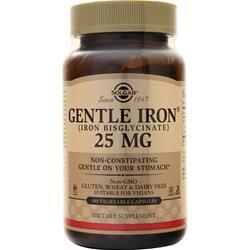 Solgar Gentle Iron (25mg) 180 vcaps