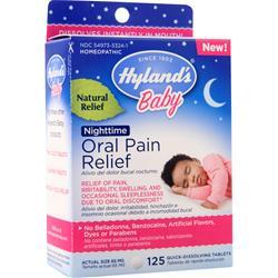 Hylands Homeopathic Baby Oral Pain Relief Nighttime 125 tabs