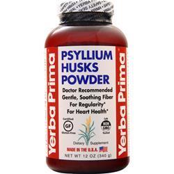 Yerba Prima Psyllium Husks Powder On Sale At Allstarhealthcom