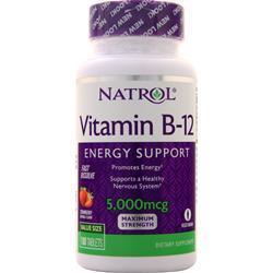 Natrol Vitamin B-12 (5000mcg) Fast Dissolve 100 tabs
