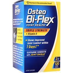 Osteo Bi-Flex Joint Health Triple Strength + Vitamin D 120 tabs
