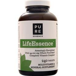 Pure Essence LifeEssence - Multivitamin & Mineral Supplement 240 tabs