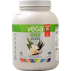 Vega Vega One - All in One Organic Shake French Vanilla 58.1 oz