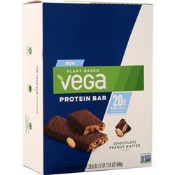 Vega Protein Bar Chocolate Peanut Butter 12 bars