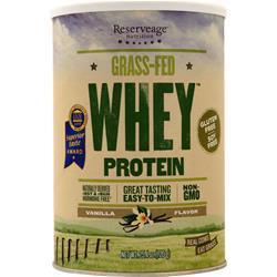 Reserveage Organics Grass-Fed Whey Protein Vanilla 720 grams
