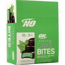 Optimum Nutrition Protein Cake Bite Chocolate Mint EXPIRES 1/7/20 12 pckts