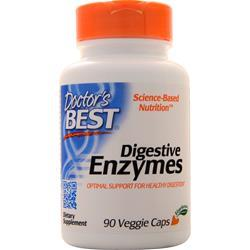 Doctor's Best Digestive Enzymes 90 vcaps