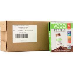 Vega Protein Nutrition Shake RTD Chocolate BEST BY 11/11/19 12 bttls
