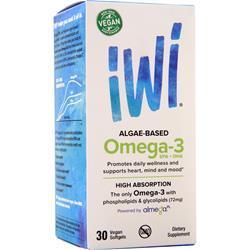 iWi Algae-Based Omega 3 30 sgels