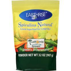 Earthrise Spirulina Natural Powder 907 grams