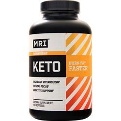 MRI Thermogenic Keto  EXPIRES 9/19 120 sgels