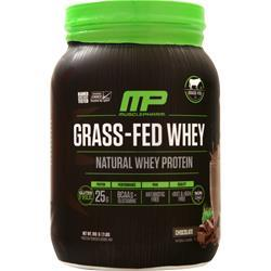 Muscle Pharm Grass-Fed Whey (Natural) Chocolate 910 grams