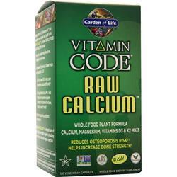 Garden Of Life Vitamin Code - Raw Calcium 120 vcaps