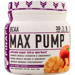 Finaflex Max Pump BCAA (Buy one Get one Free) Peach Mango Twister 588 grams