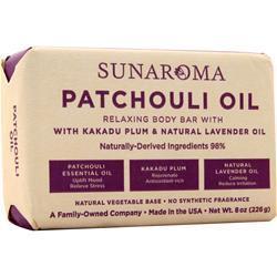 Sunaroma Body Bar Relaxing Patchouli Oil 8 oz