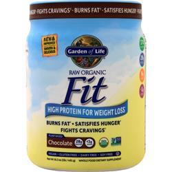 Garden Of Life Raw Organic Fit - High Protein for Weight Loss Chocolate 461 grams