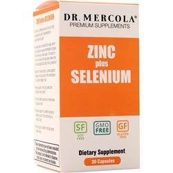 Dr. Mercola Zinc plus Selenium 30 caps