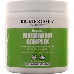 Dr. Mercola Healthy Pets Organic Mushroom Complex 60 grams