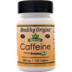 Healthy Origins Caffeine (200mg) 120 tabs