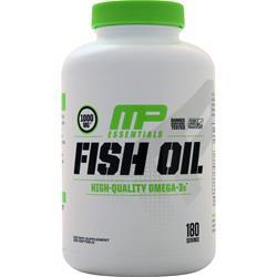 Muscle Pharm Fish Oil Natural Citrus 180 sgels