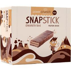 Power Crunch Snap Stick Chocolate Lava 12 bars