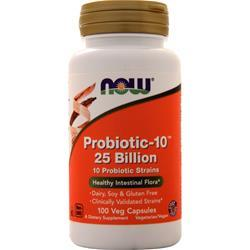 Now Probiotic-10 (25 Billion) 100 vcaps