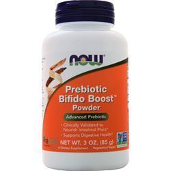Now Prebiotic Bifido Boost Powder 3 oz