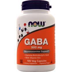 Now GABA (500mg) with B-6 100 vcaps